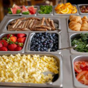 Breakfast choices